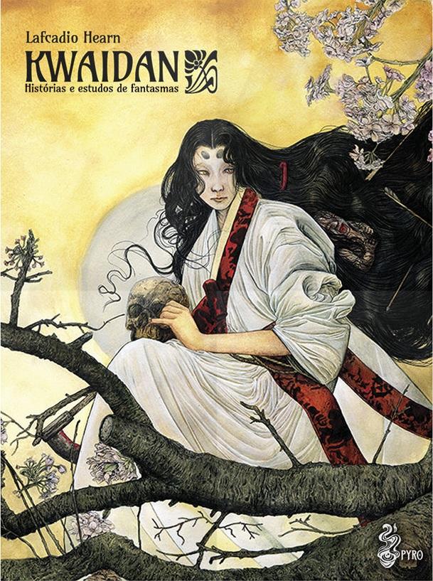 Kwaidan - Histórias e estudos de fantasmas - Lafcadio Hearn - Pyro Books