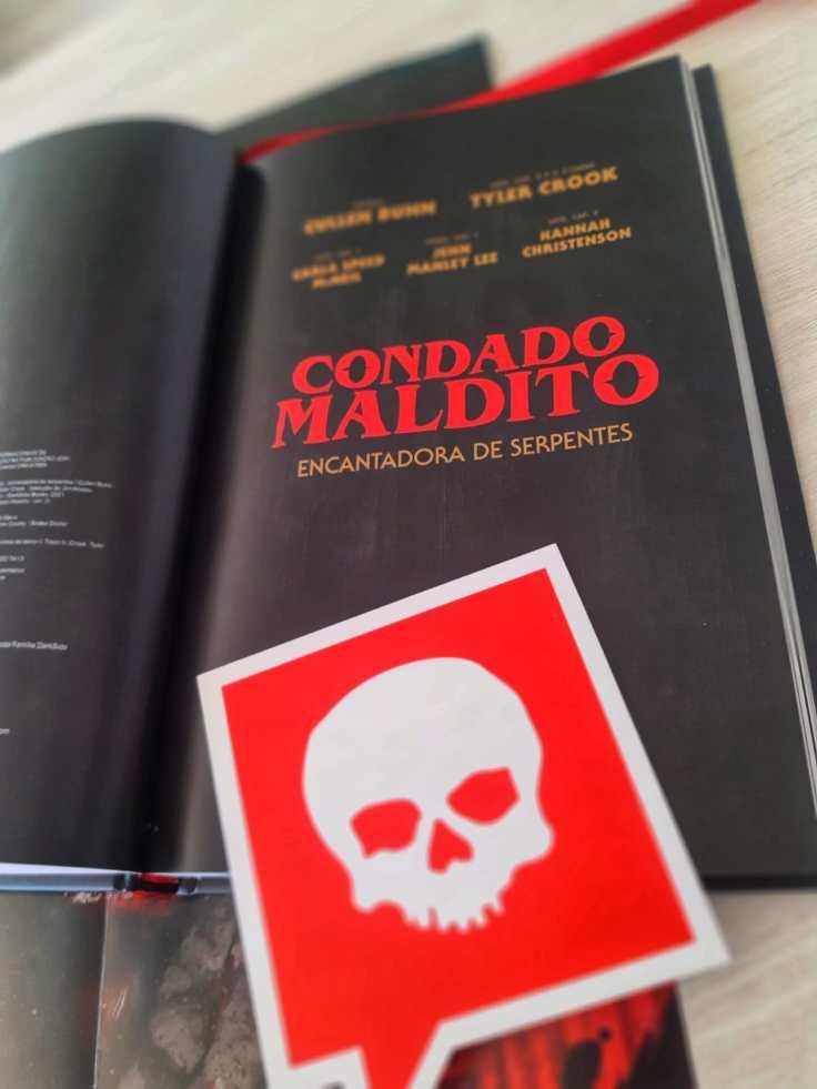 Condado Maldito Volume 3 - Cullen Bunn - Tyler Crook - Darkside Books