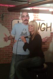 Laugh In Comedy Cafe with Julie McCullough (she was once a question on jeopardy)