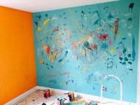 paint splatter bedroom walls | www.indiepedia.org
