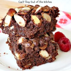 Kitchen Aid Mixing Bowls Bi Fold Cabinet Doors Gluten Free Fudgy Almond Brownies - Can't Stay Out Of The ...