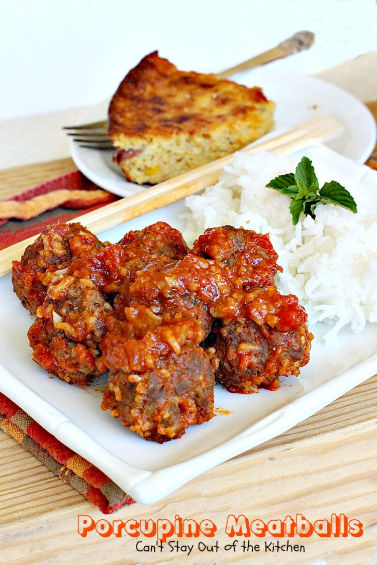 Porcupine Meatballs  Cant Stay Out of the Kitchen