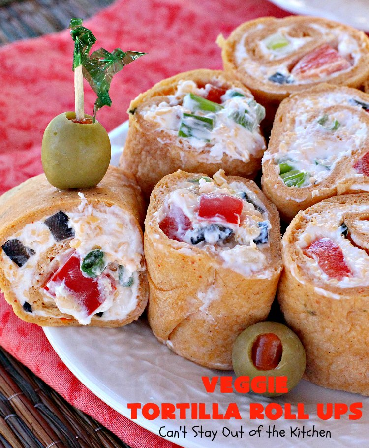 Pioneer Woman Christmas Appetizers Roll Ups : pioneer, woman, christmas, appetizers, Veggie, Tortilla, Can't, Kitchen