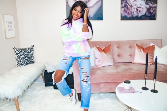 The best tie-dye hoodie from Shop Vault style