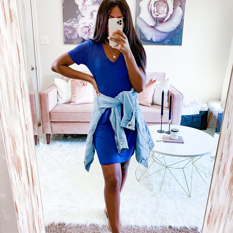 Your everyday t-shirt dress
