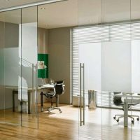 Frameless Glass Interior Sliding Doors