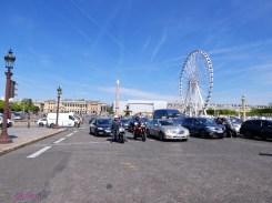 Coming into Place de la Concorde