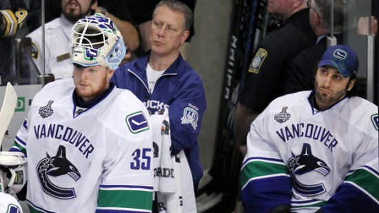 The Legend Of Luu Bledsoe Or Who Should Be The Canucks Starter