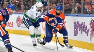Vancouver Canucks at Edmonton Oilers Post-Game Recap  The Comeback Is  Cancelled 8c85435c5