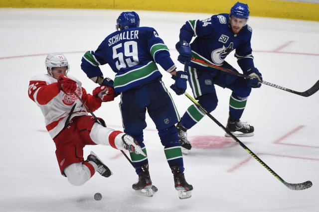 Botchford's Army THE GAME DAY – Canucks @ Red Wings