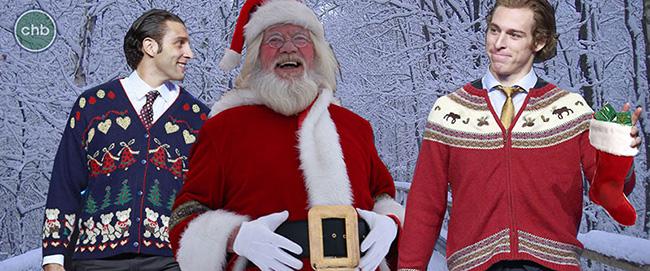 Santa Loves Bobby Lu & Boothy