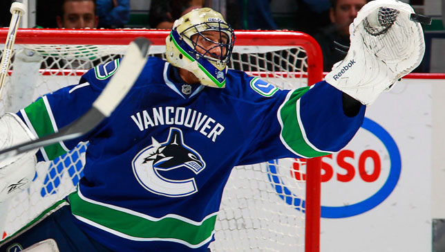 Luongo recorded his 65th career shutout last night against Edmonton. That was merely a warm up for the game tonight against Boston.