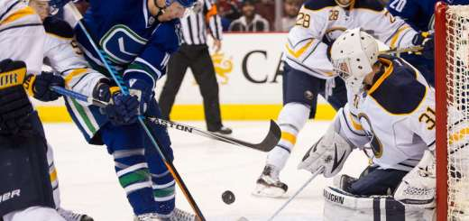 Alex Burrows, Vancouver Canucks vs Buffalo Sabres (Photo credit: NHL.com)