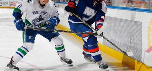 Ronalds Kenins, Vancouver Canucks (Photo credit: NHL.com)