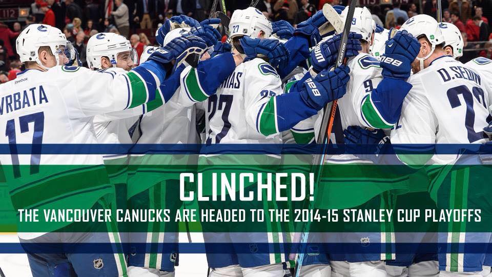 clinched