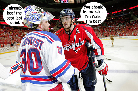 Ovechkin and Lundqvist