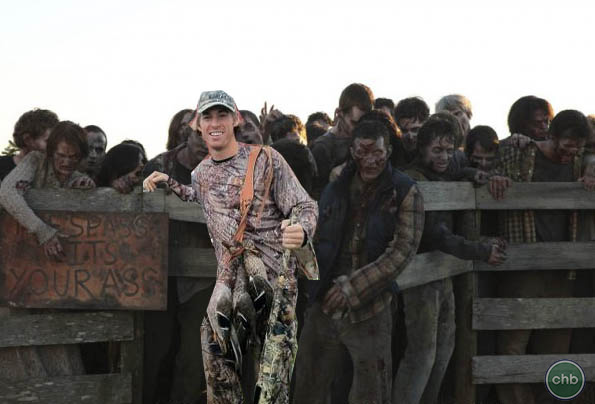 David Booth Hunting Zombies