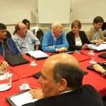 La intendenta municipal Marisa Fassi, participó este martes en el Auditorio del Anexo de la Cámara Alta bonaerense,
