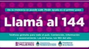 Club de Leones de Cañuelas,  con la Fundación Avon, con una Charla Abierta  por  Violencia de Género.