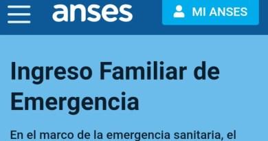 , ANSES, estableció un cronograma de Pre-inscripción para cobrar el ingreso Familiar de Emergencia., Cañuelas Noticias-CNoticias de Argentina