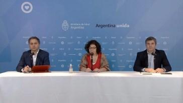 """Coronavirus COVID-19, Argentina Vizzotti: ayer no se rompió la cuarentena""""1.353 casos confirmados de coronavirus y 42 fallecidos, 86 en terapia intensiva."""
