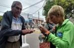 Cañuelas, este domingo 5 de marzo se vacunaron contra la gripe más de 250 adultos mayores.