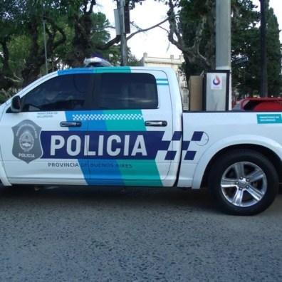 GEDC0881 Cañuelas Coronavirus COVID-19 mega operativo de desinfección con la Policía Ecológica y Bomberos de la Provincia de Buenos Aires.