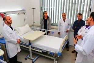 Cañuelas  Coronavirus  COVID-19: El Hospital Néstor Kirchner recibió el equipamiento para el nuevo pabellón de aislamiento.