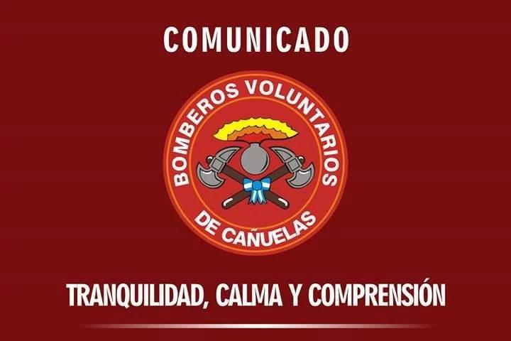 , Cañuelas Coronavirus COVID-19, comunicado del Cuartel de Bomberos Voluntarios., Cañuelas Noticias - Noticias de Argentina