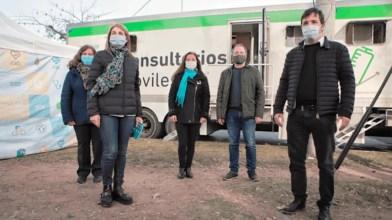 ACUMAR: Sabbatella y Kreplak acompañaron un operativo para detectar casos de Coronavirus en Lanús