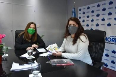 """Estela Díaz: """"El diálogo entre municipios, provincia, nación y organizaciones sociales es lo que necesitábamos para abordar la discriminación y la violencia por razones de género"""""""