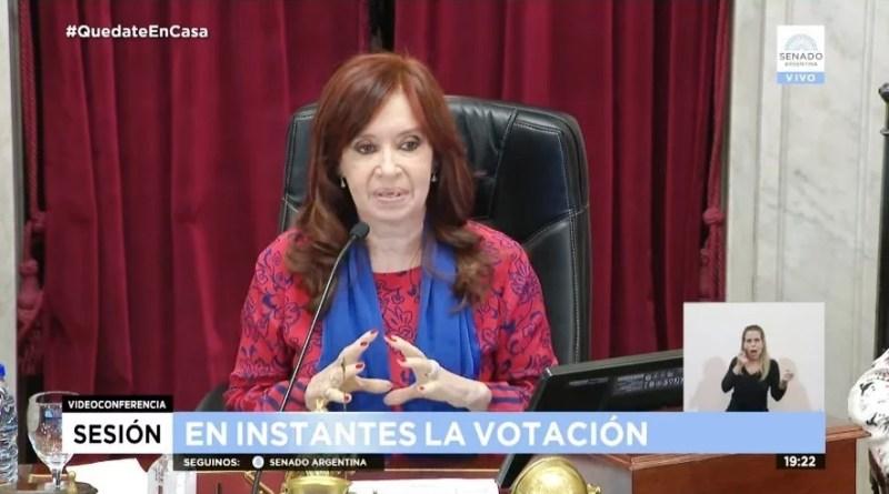 , El Senado de la Nación Argentina:en la primera sesión virtual de su historia, avaló los decretos vinculados con la pandemia, Cañuelas Noticias - Noticias de Argentina