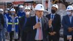 """El presidente encabeza la bajada de una tunelera de AySA del Sistema Agua Sur"""""""