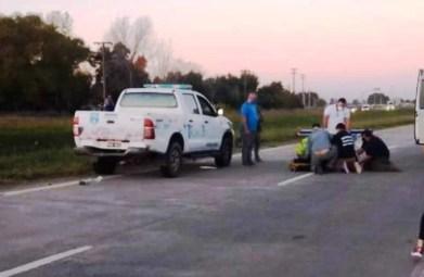 Mujer Policía que vive en Cañuelas,  fue embestida por Motochorros yle robaron el arma en San Vicente