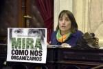 """Del Plá: """"La Comisión de Mujeres debe votar el aborto legal y legislar sobre las crecientes problemáticas de las mujeres"""