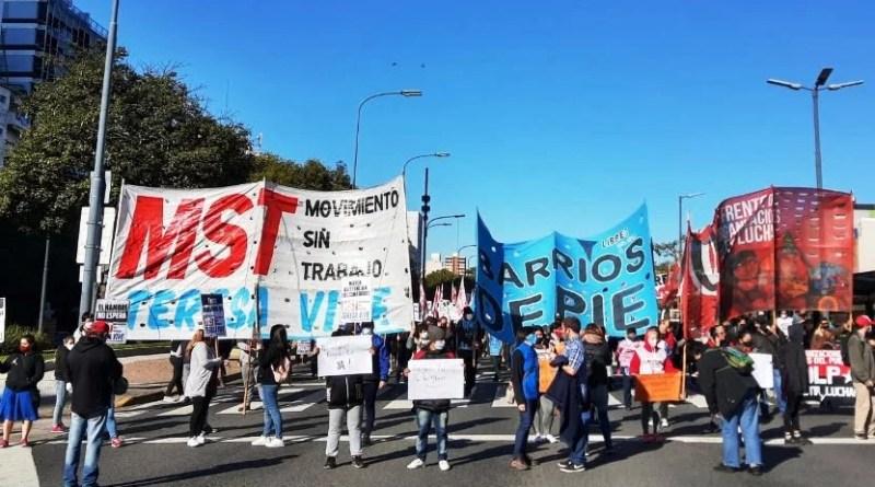 , MST Teresa Vive:  Gran movilización del MST Teresa Vive y organizaciones sociales, Cañuelas Noticias-CNoticias de Argentina