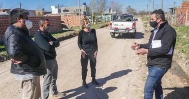, Cañuelas, La intendenta Marisa Fassi recorrió obras de mejoras en barrios., Cañuelas Noticias - Noticias de Argentina