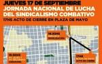 Asociación Gremial Docente de la UBA El sindicalismo combativo rechazará el pacto UIA-CGT-gobierno en Plaza de Mayo