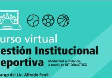 Cañuelas: Curso de Gestión Institucional Deportiva.