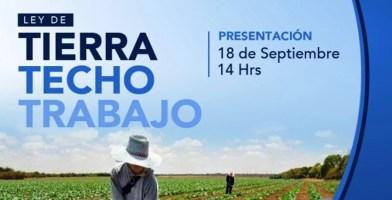 La Matanza: presentación del Proyecto Tierra Techo y Trabajo.