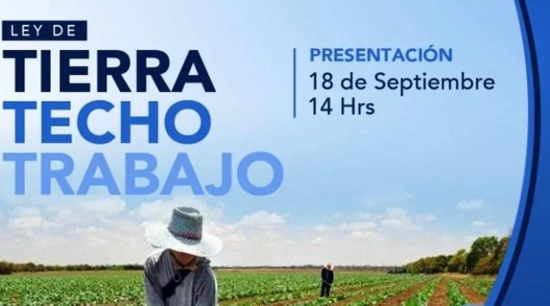 , La Matanza: presentación del Proyecto Tierra Techo y Trabajo., Cañuelas Noticias - Noticias de Argentina