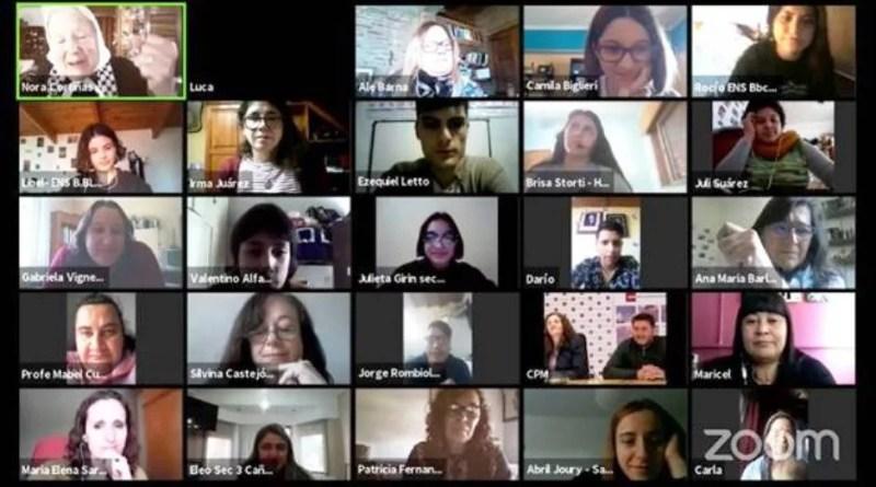 , Jóvenes de toda la provincia conmemoraron el 44º aniversario de la noche de los lápices , Cañuelas Noticias - Noticias de Argentina