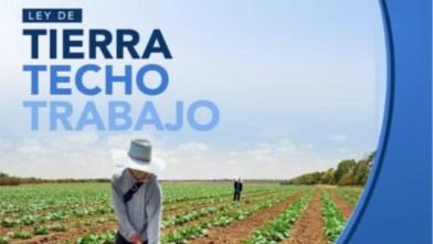 Diputado Nacional Juan Carlos Alderete: La oligarquía terrateniente salió con los tapones de punta.