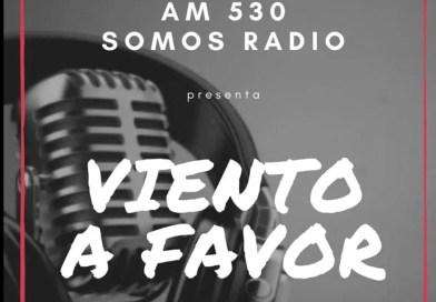 Viento a Favor de Kike Alcoba, en AM 530 a las 19:00 hs a 21:00 hs. Somos Radio.