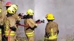 Cañuelas, incendio en Supermercado en Ruta Nacional 3 Km 54.