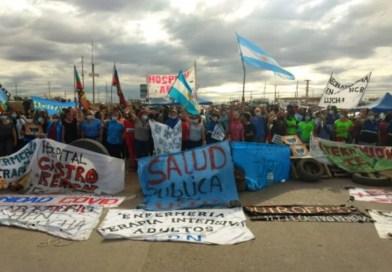PTS – Movilización y acto en Casa del Neuquén en apoyo a la histórica lucha de las y los trabajadores de la salud