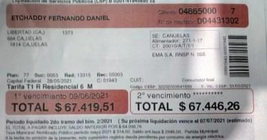 Edesur Cañuelas – sobrefacturacion en boletas de las viviendas, en el Gobierno de Fernández., CNoticias - Cañuelas Noticias