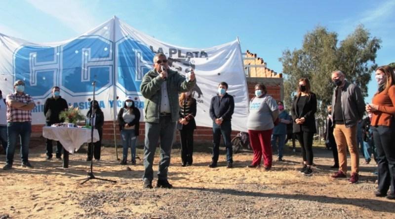Melchor Romero – Inauguración de la Posta Sanitaria del Barrio La Emilia.