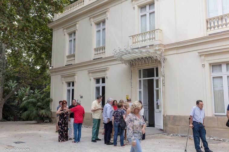 Casa Palacio. Jadín Botánico La Concepción. Málaga