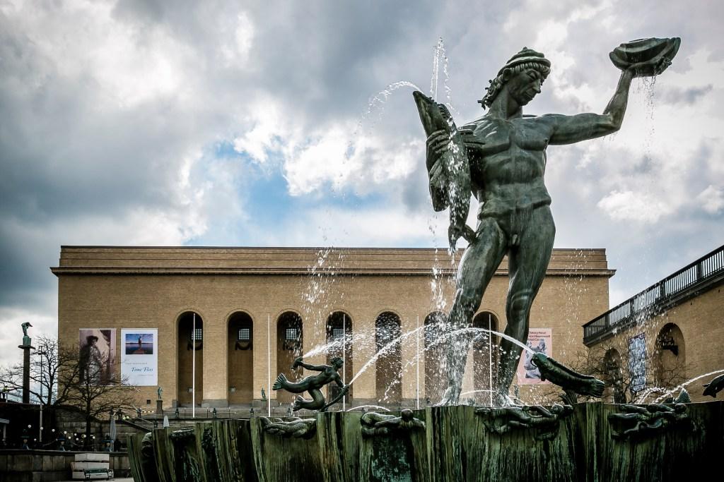 Museo de Arte y Poseidón. Gotemburgo, Suecia